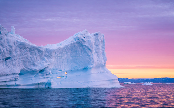 Midnight Sun @ Disko Bay