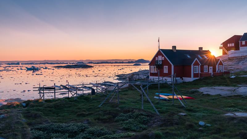 Arctic Sunset @ Midnight