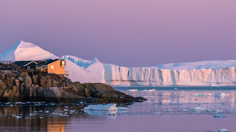 Mouth of the Ilulissat Fjord