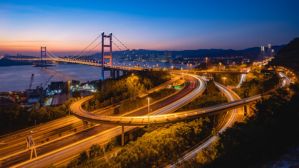Tsing Ma Bridge | Hong Kong
