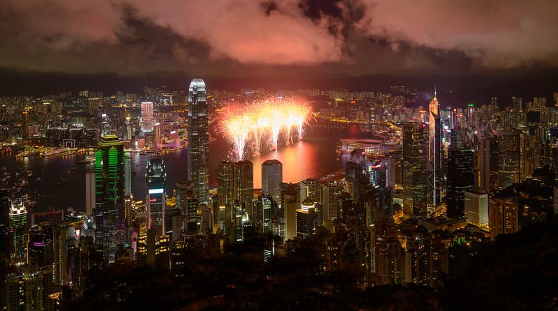 Victoria Harbour Fireworks