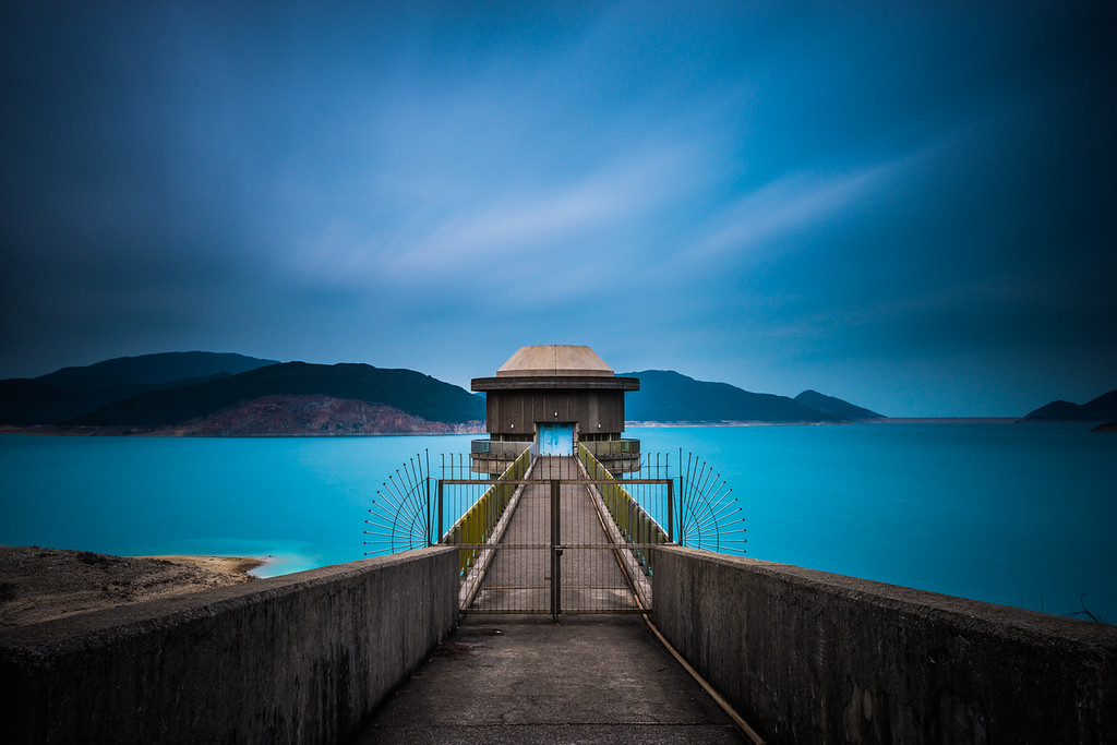 Draw Off Tower X  |  High Island Reservoir