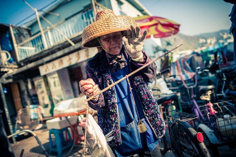 Tai O Fisherwoman