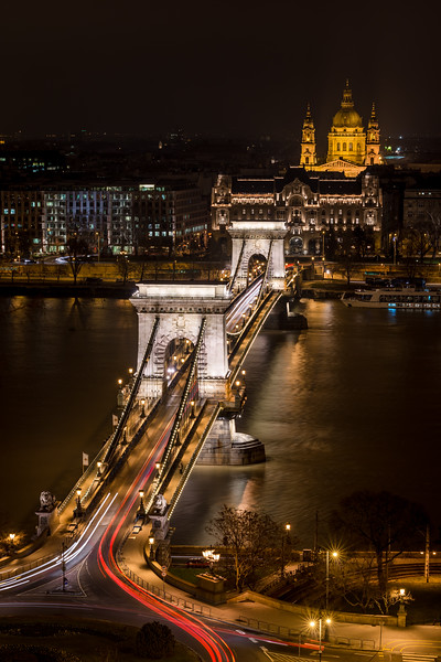 the chain bridge, the beauty and the beast