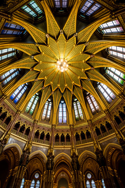 Dome of the Hungarian Parliament Building