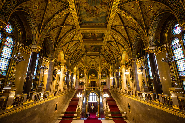Main Staircase | Hungarian Parliament