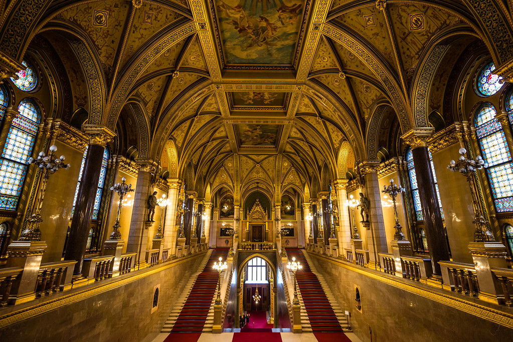 Main Staircase | Hungarian Parliament