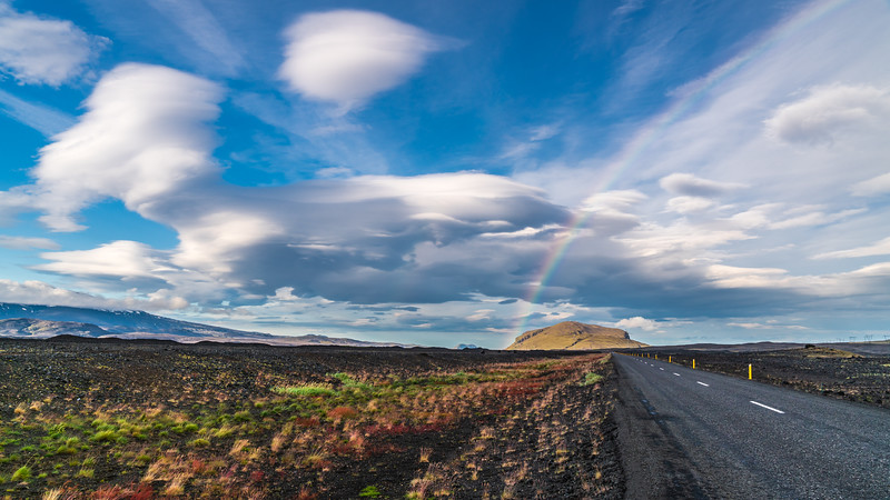 Rainbow & Lenticular Clouds ^^