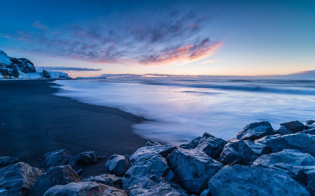 Magic Hour @ the Black Sand Beach