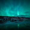aurora borealis at Þingvellir