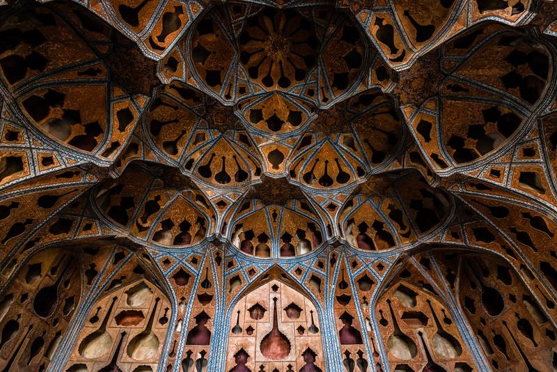 Music Room in Ālī Qāpū   Isfahan