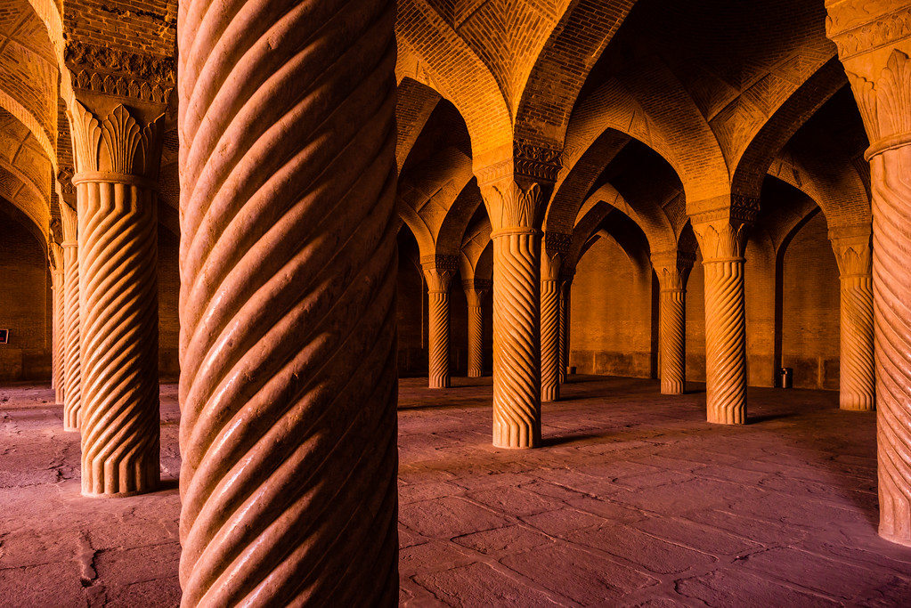 Shabestan (Prayer Hall) of Vakil Mosque
