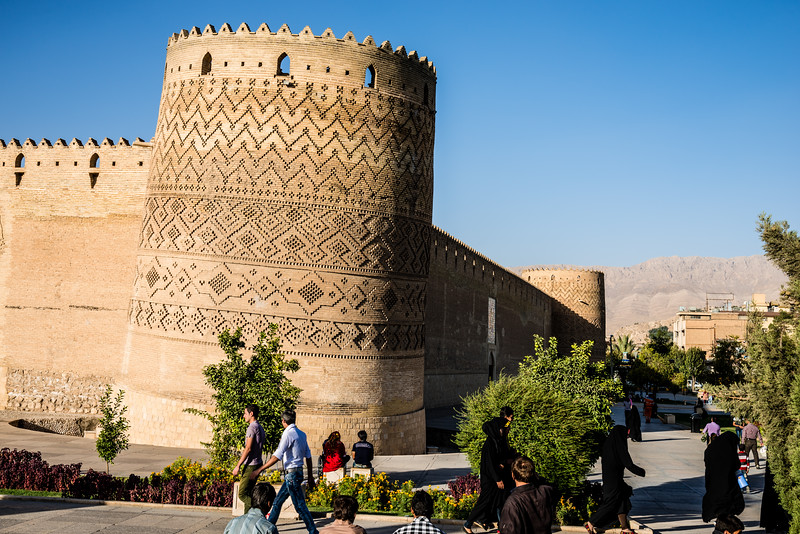 the Leaning Tower Of Arg Of Karim Khan | Shiraz