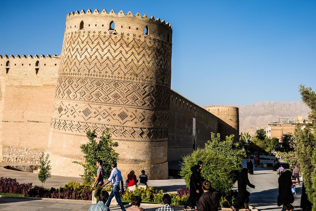 the Leaning Tower Of Arg Of Karim Khan | Shiraz
