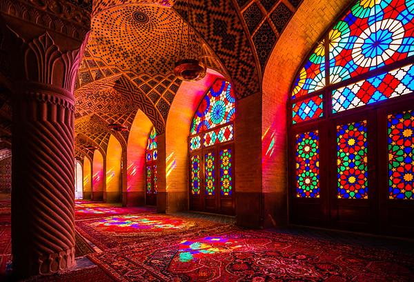 "Nasīr al-Mulk Mosque aka ""Pink Mosque"" | Shiraz"