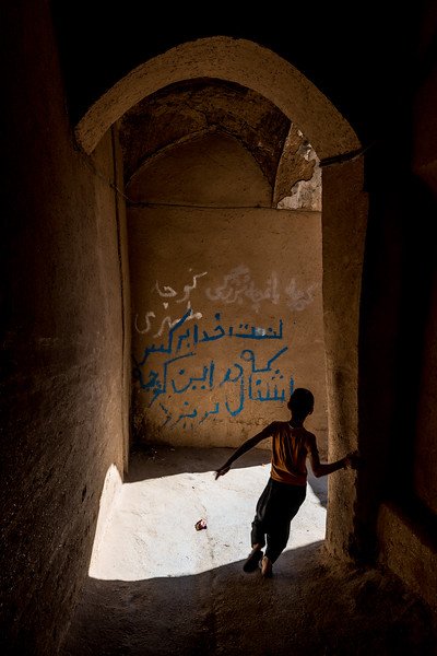 alley of Yazd