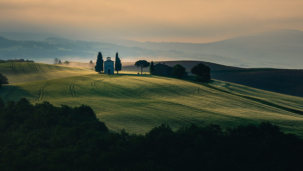 Chapel of the Madonna di Vitaleta | Tuscany