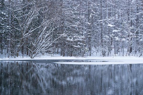 御射鹿池 | Mishakaike Pond