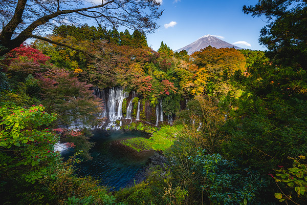 🇯🇵 Shiraito Falls | Fujinomiya
