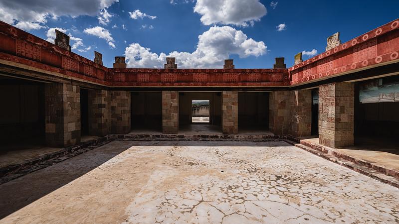 🇲🇽  Patio del Palacio de Quetzalpapálot | Teotihuacán