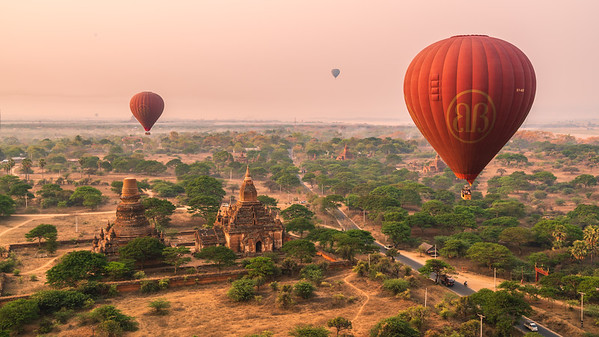 Up in the Air 2 | Bagan