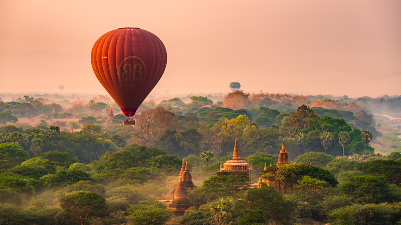 Up in the Air | Bagan