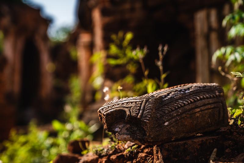 Crumbled Ruins | Shwe Indein Pagoda