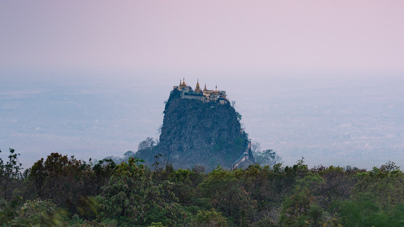 Mount Popa | Mandalay