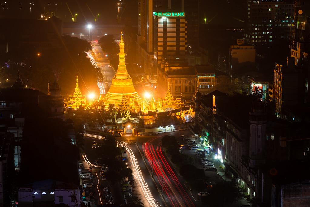 Sule Pagoda | Downtown Yangon