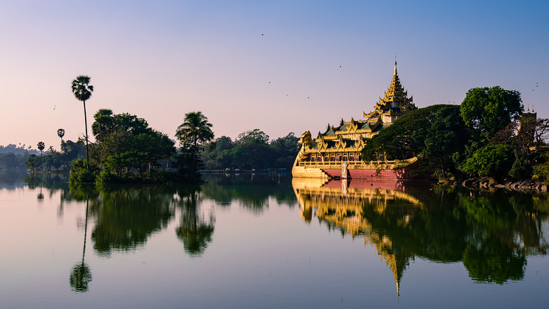 Karaweik | Kandawgyi Lake | Yangon
