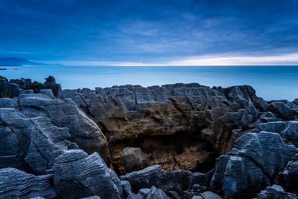 Blowhole & Pancake Rocks | Punakaiki