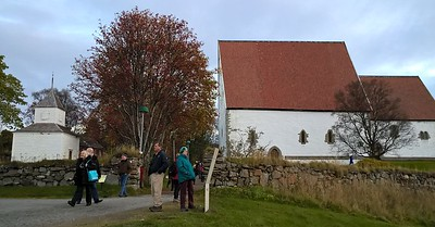 At the Loften Islands we had a lovely day which included a visit to a medieval church
