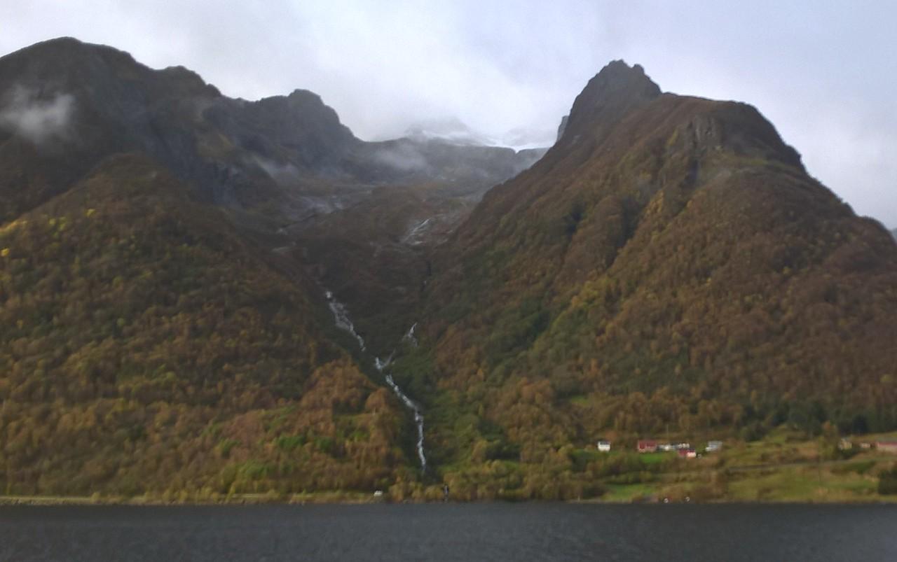 Norway's coastline is scenic