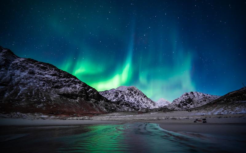 Aurora Borealis   Uttakleiv