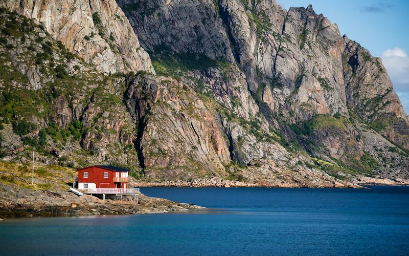 Norweigian House near Henningsvær