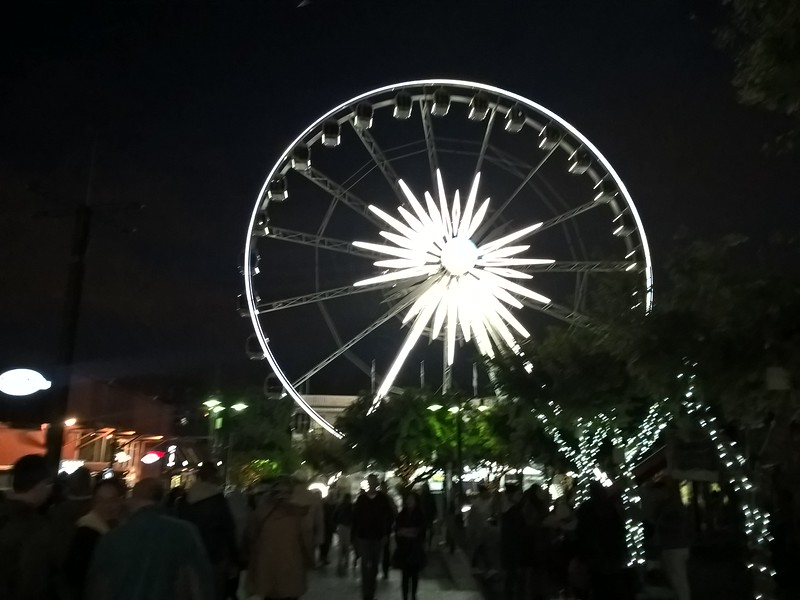 The Cape Wheel offered a great overview of the city.