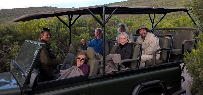 Grootbos was chilly but we enjoyed a tour of the Reserve.