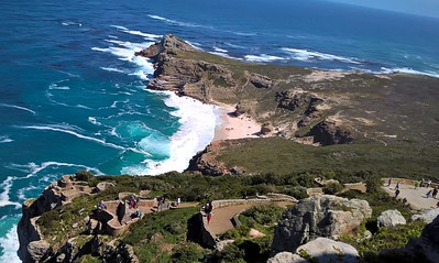 This is the tip of the Cape Peninsula.