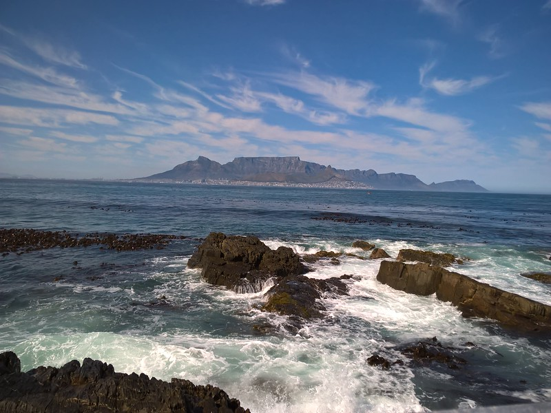 From Robben Island the mainland looks so near and yet is so far if you are a prisoner.