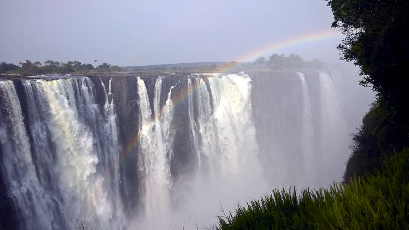 Victoria Falls was amazing, especially seeing rainbows everywhere.