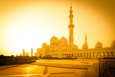 Grand Mosque Gold