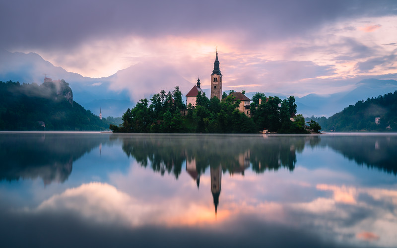 ⛪️ Church of the Assumption | Lake Bled