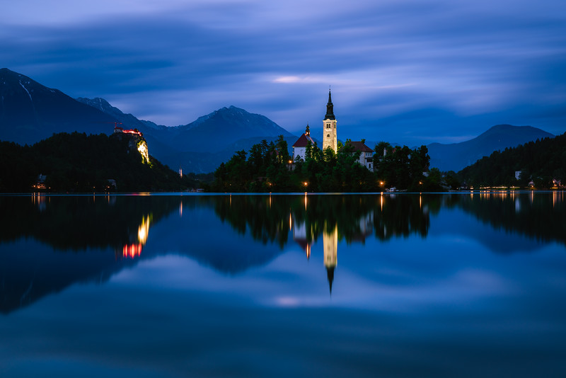 ⛪🏝  the church on the island | Lake Bled
