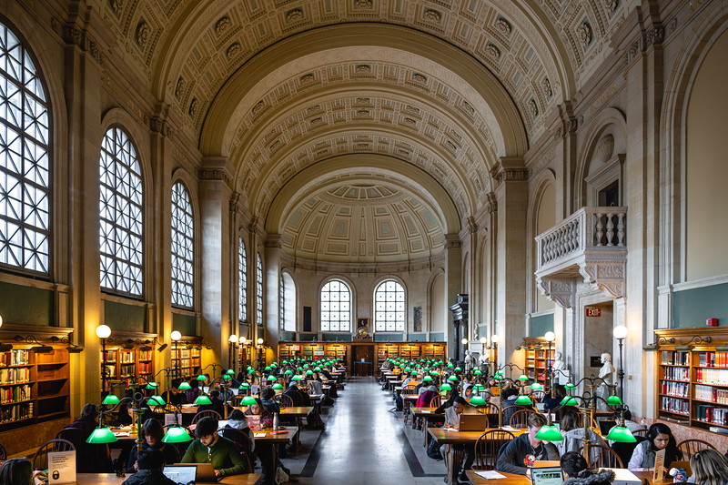 Bates Hall | Boston Public Library