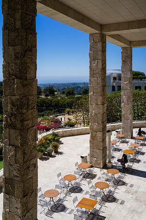 Garden Terrace Cafe at the Getty