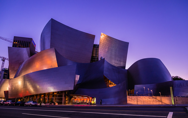 Sunset @ Walt Disney Concert Hall