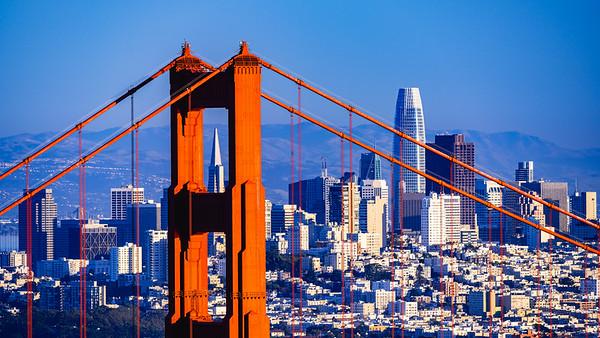 🇺🇸 Golden Gate Bridge | San Francisco