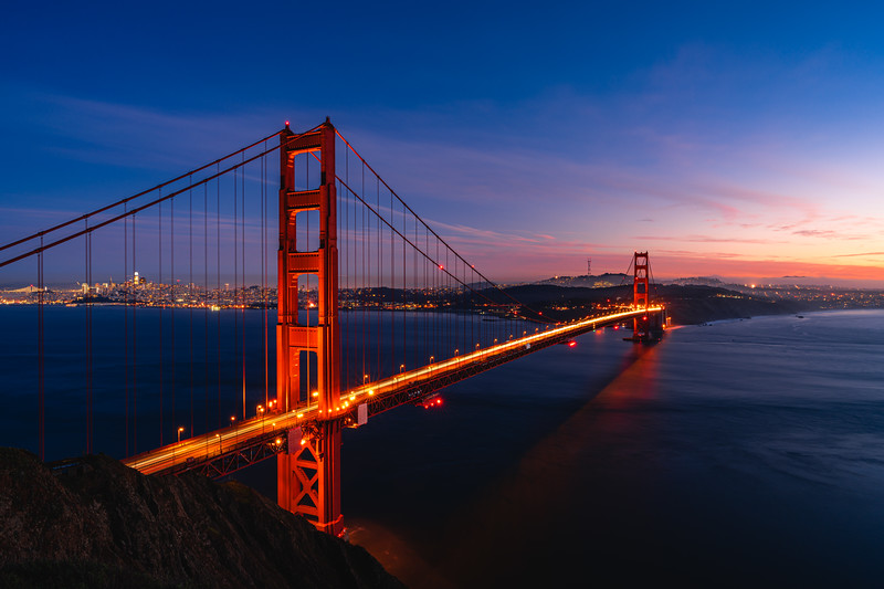 🇺🇸🌉 Golden Gate Bridge | San Francisco