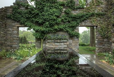 Espalier tree, Chanticleer Gardens