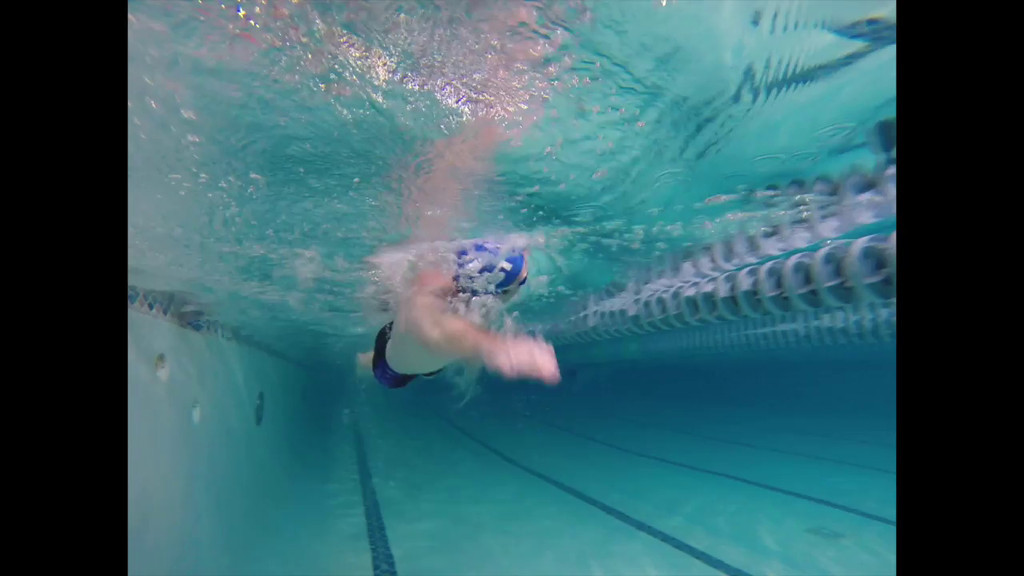 Swim Stroke Analysis April promo video